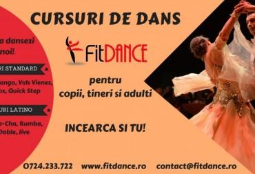Cursuri de dans pentru copii, tineri si adulti - Brasov